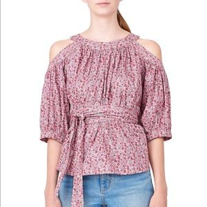 Rose Open Shoulder Top | La Vie by Rebecca Taylor